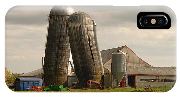Storm At The Farm IPhone Case