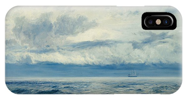 Storm iPhone Case - Storm Brewing by Henry Moore