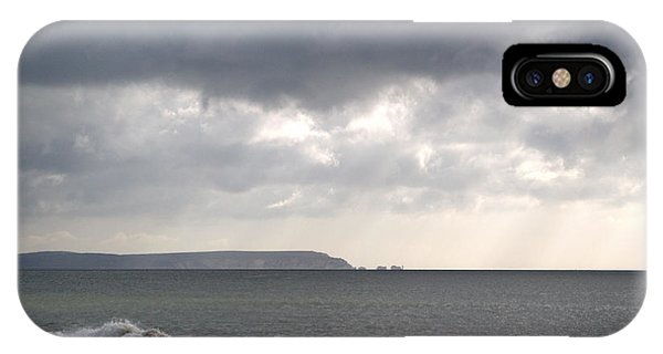 iPhone Case - Storm Brewing Over The I O W by Chris Day