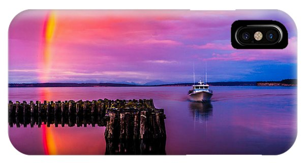 Port Townsend iPhone Case - Storm Chaser by TL  Mair