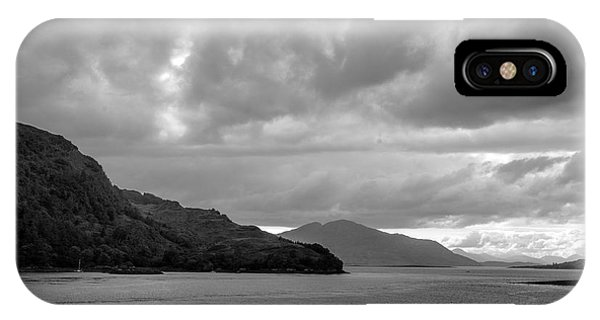 Storm On The Isle Of Skye, Scotland IPhone Case