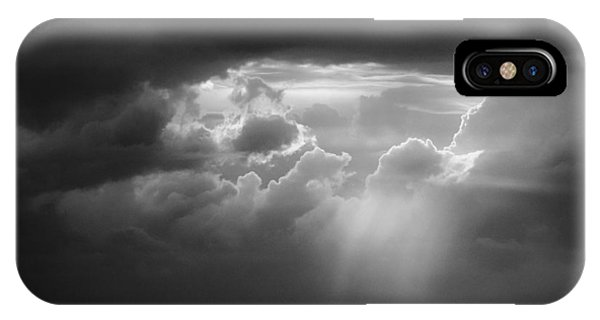 Storm Clouds Clearing IPhone Case