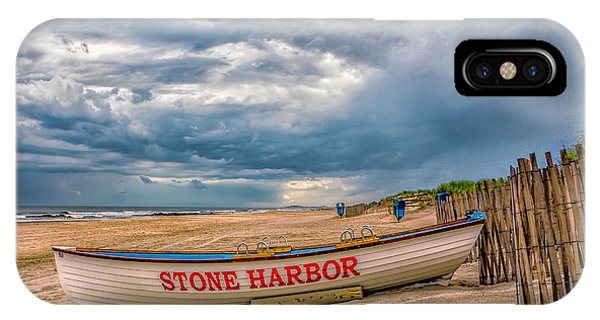 Storm Clouds In Stone Harbor IPhone Case