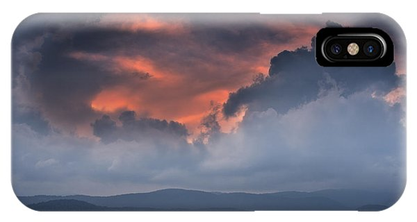 IPhone Case featuring the photograph Storm Clouds by Ken Barrett