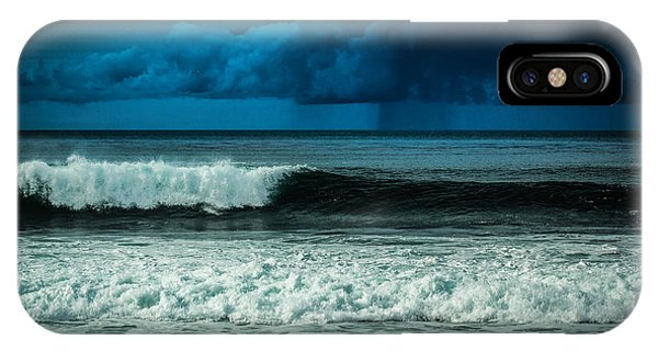 Storm Clouds On The Horizon IPhone Case
