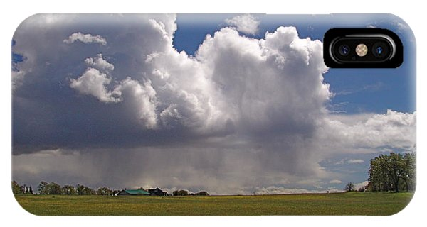 Storm Happening Phone Case by John Norman Stewart