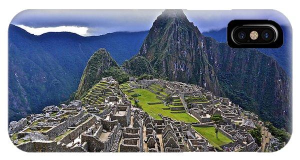 Storm Inbound To Machu Picchu IPhone Case