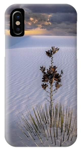 Storm Light At White Sands IPhone Case
