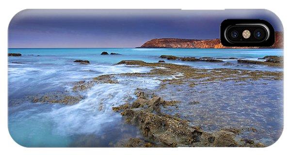 Kangaroo iPhone Case - Storm Light by Mike  Dawson