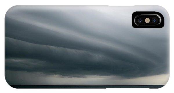 Storm Near Liberia IPhone Case