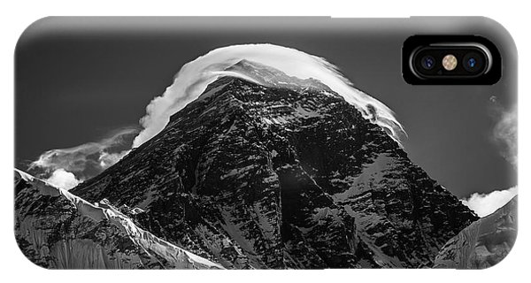 IPhone Case featuring the photograph Storm On Everest by Owen Weber