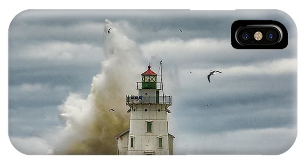 Storm On Lake Erie IPhone Case