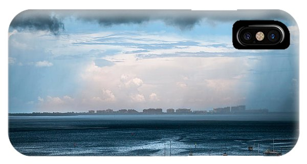 Storm On The Bay 2 IPhone Case