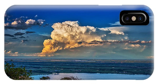 Storm On The Horizon IPhone Case