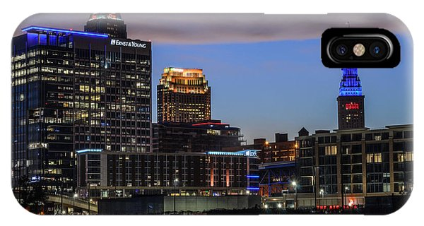 Storm Over Cleveland IPhone Case