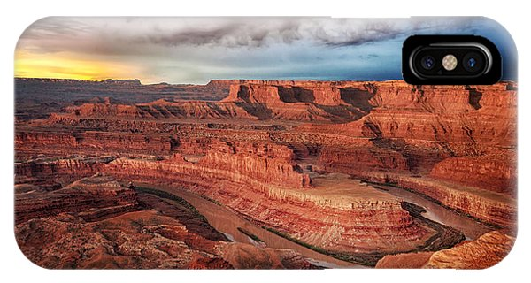 Storm Over Dead Horse Point IPhone Case