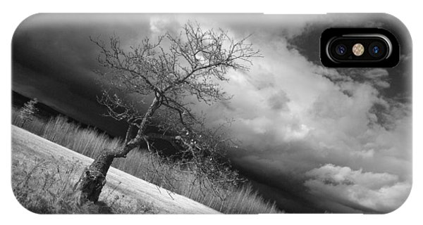 Storm Over Dead River IPhone Case