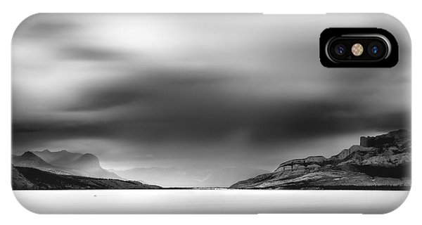 Storm Over Jasper Lake IPhone Case