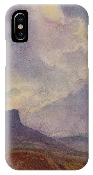 Storm Over Pedernal IPhone Case