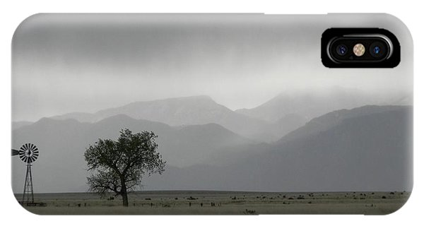 iPhone Case - Storm Over The Rockies by Adrienne Petterson