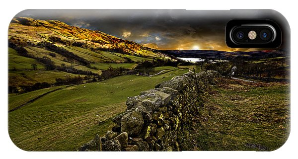 Storm Over Windermere IPhone Case