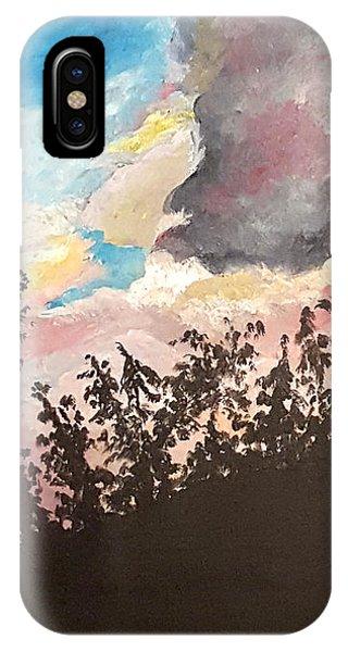 Storm Passing Through IPhone Case