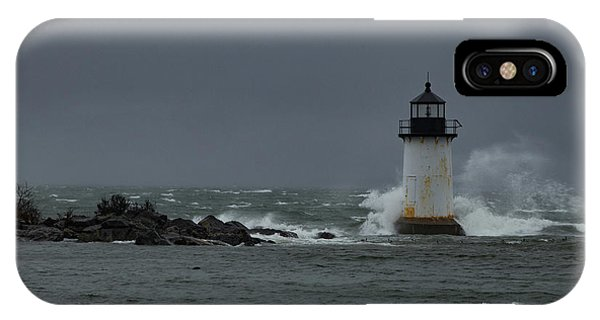 Storm Riley Pickering Lighthouse IPhone Case
