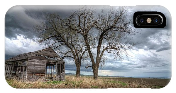 Storm Sky Barn IPhone Case