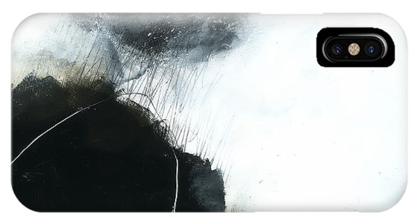 Panel iPhone Case - Storm Watch #1 by Jane Davies