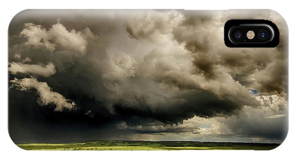 iPhone Case - Storm Watch 2 by Bob Christopher