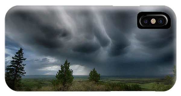 iPhone Case - Storm Watch 4 by Bob Christopher