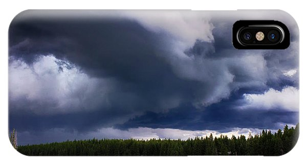 iPhone Case - Storm Watch 5 by Bob Christopher