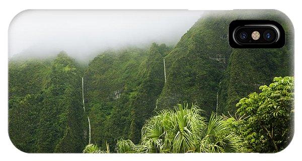 Storm Waterfalls IPhone Case