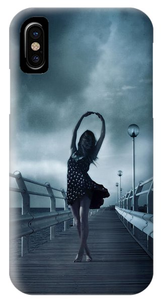 Dance iPhone Case - Stormdance by Cambion Art
