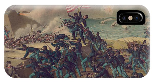 Allison iPhone Case - Storming Fort Wagner by Kurz and Allison