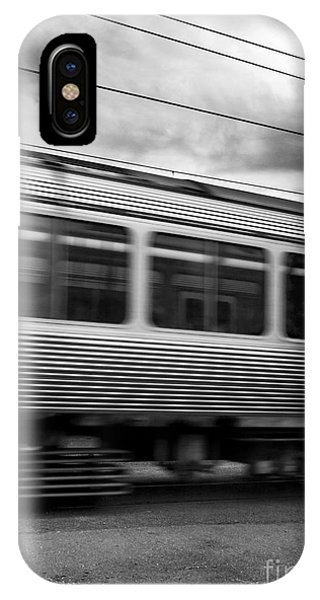 Commute iPhone Case - Storming Trains by Jorgo Photography - Wall Art Gallery
