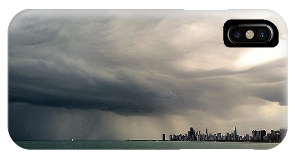 Storms Over Chicago IPhone Case