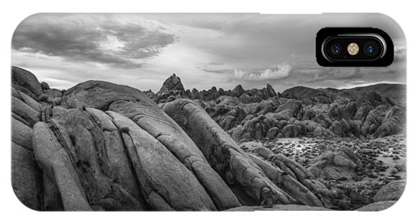 Stormy Afternoon At Alabama Hills IPhone Case
