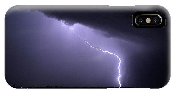Stormy Art On The Prarie IPhone Case
