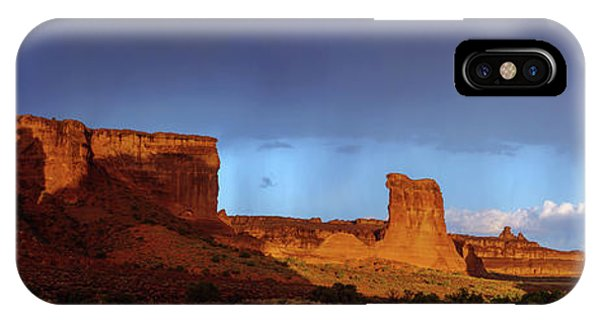 Arches National Park iPhone Case - Stormy Desert by Chad Dutson