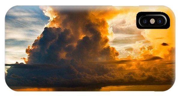 Stormy Florida Keys IPhone Case