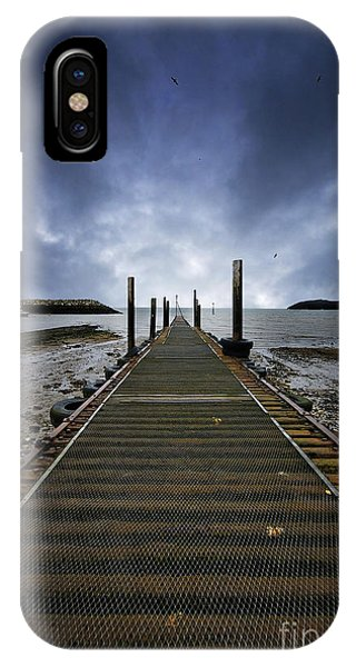 Stormy Jetty IPhone Case