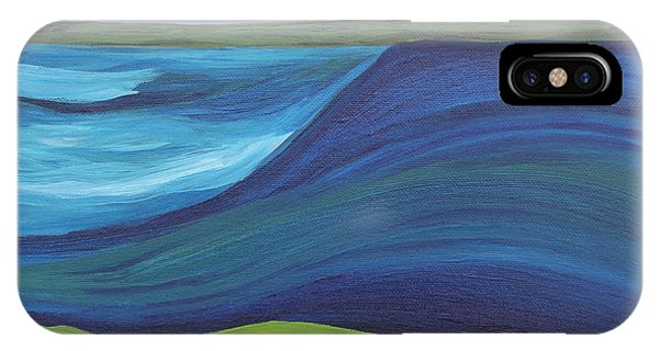 Stormy Lake IPhone Case