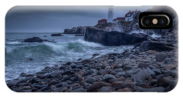 Stormy Lighthouse IPhone Case