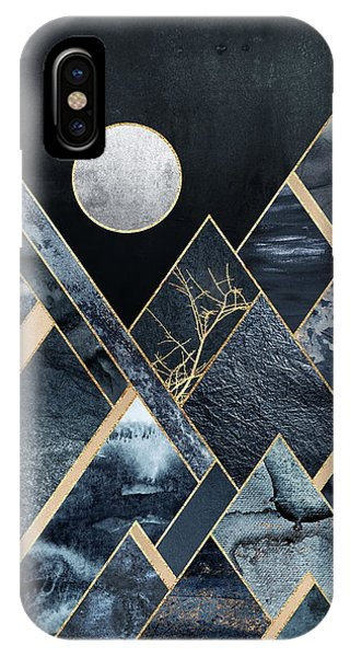 Mountain iPhone Case - Stormy Mountains by Elisabeth Fredriksson