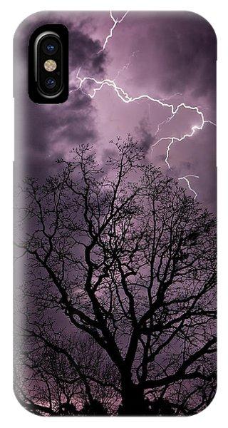 Stormy Night IPhone Case