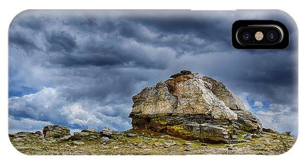 Stormy Peak 2 IPhone Case