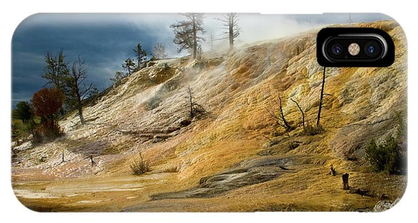 Stormy Skies At Mammoth IPhone Case