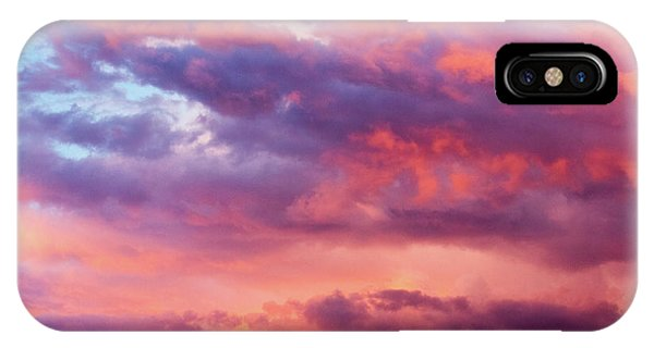 IPhone Case featuring the photograph Stormy Southwest Sunset Horizontal by SR Green