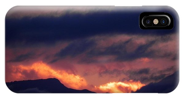 iPhone Case - Stormy Sunset by Adrienne Petterson